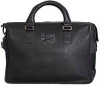 Стильная мужская сумка из кожзаменителя 20л. 30405 черная