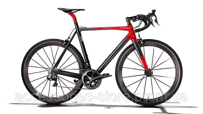 Шоссейный велосипед Audi Sport Racing Bike, black/red
