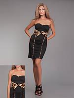 Платье леопардPG-A16826-CHTG