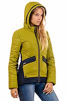 Женская демисезонная куртка 01.172 яблоко, 42-50 размер