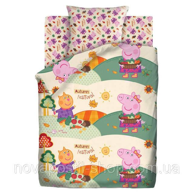 Комплект постельного белья Осенний фестиваль подростковый