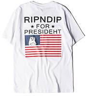 Футболка мужская RipNDip ror Presideht