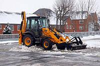 Уборка и вывоз снега - Снегоуборочные работы