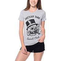 Футболочка яркая женская Sketchy Tank Social Club