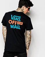 "Футболка мужская с принтом ""Vans T-Shirt With Back Print"""