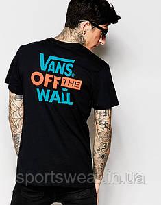 Мужская Футболка  Vans T-Shirt With Back Print