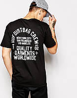 "Футболка мужская с принтом ""HUF T-Shirt With Back Print"""