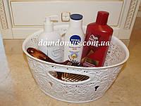 "Корзина ажурная ""Mini Basket"" Elif Plastik, Турция,  белая"