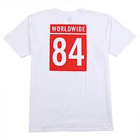Мега Футболка мужская с принтом HUF WORLDWIDE TEAM