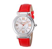 Часы женские наручные красные арт. 0017