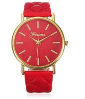 Часы Vogue/кварцевые/цвет ремешка красный