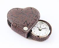 Cердечко-будильник Шоколадный Heart Brown