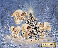 """Набор для изготовления картин в технике Папертоль """"Рождественские Ангелы"""""""