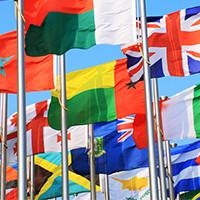 Флаги, Настольные флажки, Автомобильные флажки, Напольные флагштоки, Вымпелы.