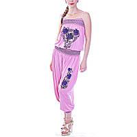 Комбинизон женский летний розовый