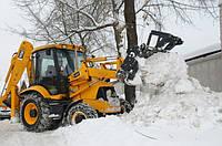 Чистка территории от снега и вывоз.