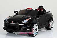 Электромобиль детский машина на аккумуляторе  Nissan T-797 GT-R BLACK
