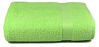 Полотенце махровое Soft touch 70х140 салатовое 400 г/м²