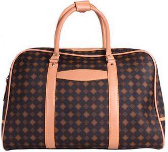 Дорожная сумочка 4226 коричневая, 20 л