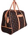 Дорожная сумочка 4226 коричневая, 20 л, фото 2
