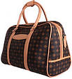 Дорожная сумочка 4226 коричневая, 20 л, фото 3
