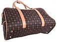 Дорожная сумочка 4226 коричневая, 20 л, фото 6