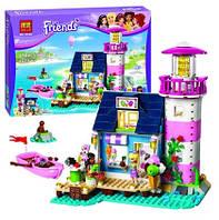 Конструктор BELA 10540 Маяк Хартлейк Сити 478 дет (аналог LEGO Friends 41094)