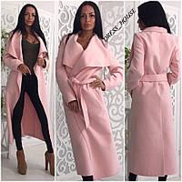 Женское пальто - кардиган,кашемир очень хорошего качества,разные цвета.