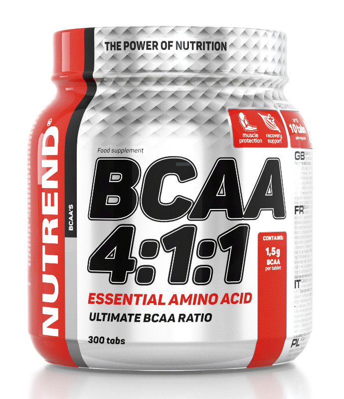 Nutrend BCAA 4:1:1 Tabs (300таб)
