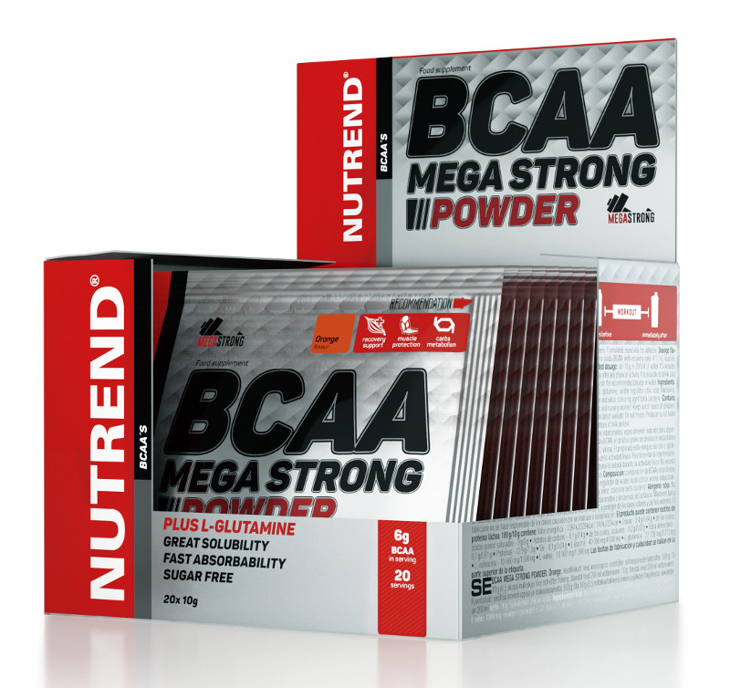 Nutrend BCAA Mega Strong Powder (20 x 10 г)