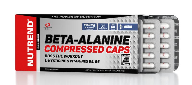Nutrend Beta-Alanine Compressed Caps (90капс)