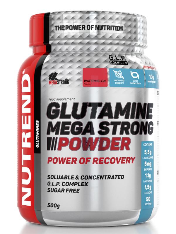 Nutrend Glutamine Mega Strong Powder (500г)
