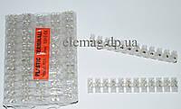 Клеммная колодка делимая, 12 групп 10 мм²  10А