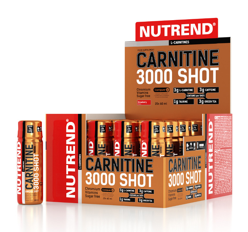 Nutrend Carnitine 3000 Shot (20 x 60мл)