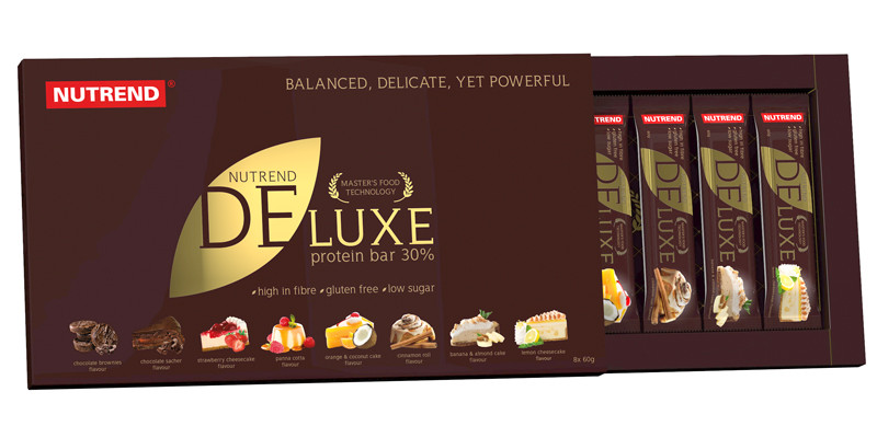 Nutrend Deluxe protein bar (8 x 60г)