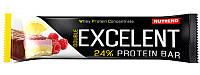 Nutrend Excelent Protein bar (85г), лимон + творог + малина с клюквой (Double)