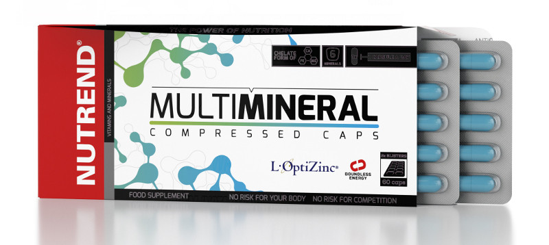 Nutrend Multimineral Compressed Caps (60 капс)