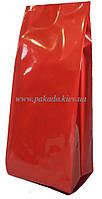 Пакет с центральным швом 135х360 ф.35+35 (1кг) КРАСНЫЙ глянец