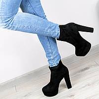 Ботинки женские Vices Jessy черные 40 размер , ботильоны женские Лабутены