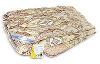 Полуторное стёганное одеяло Leleka - шерстяное облегчённое, 140*205 см, Украина