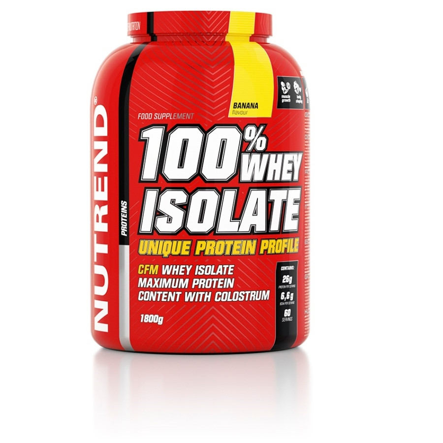 Nutrend 100% Whey Isolate (1800 г), ваниль