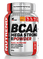 Nutrend BCAA Mega Strong Powder (500г), апельсин
