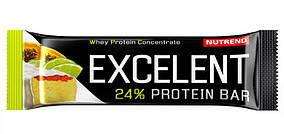 Nutrend Excelent Protein bar (40г), лайм+папайя
