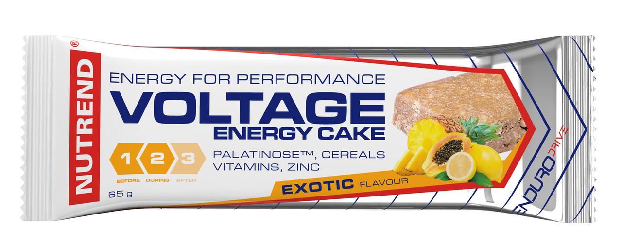 Nutrend Voltage Energy cake (65г), лесной орех