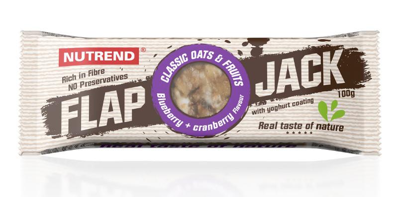 Nutrend Flap Jack (100г x 20), фисташка+кокос