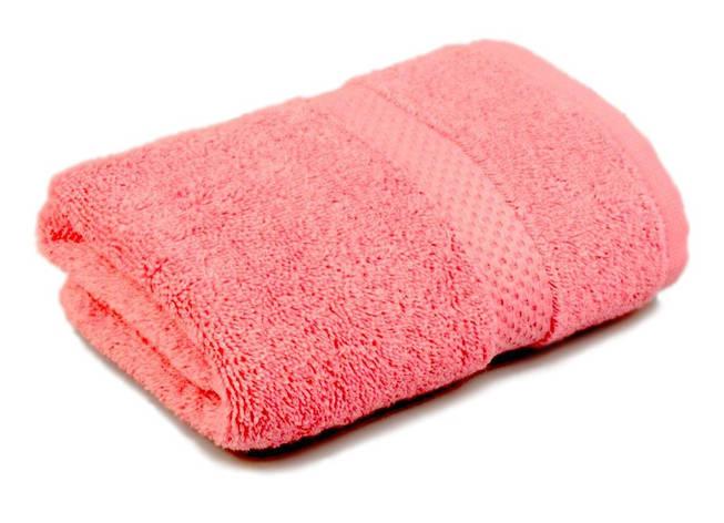 Полотенце махровое Soft touch 40х70 розовое 400 г/м², фото 2