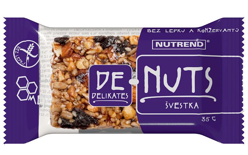 Nutrend De-Nuts (35г x 35), жареный миндаль+бразильский орех