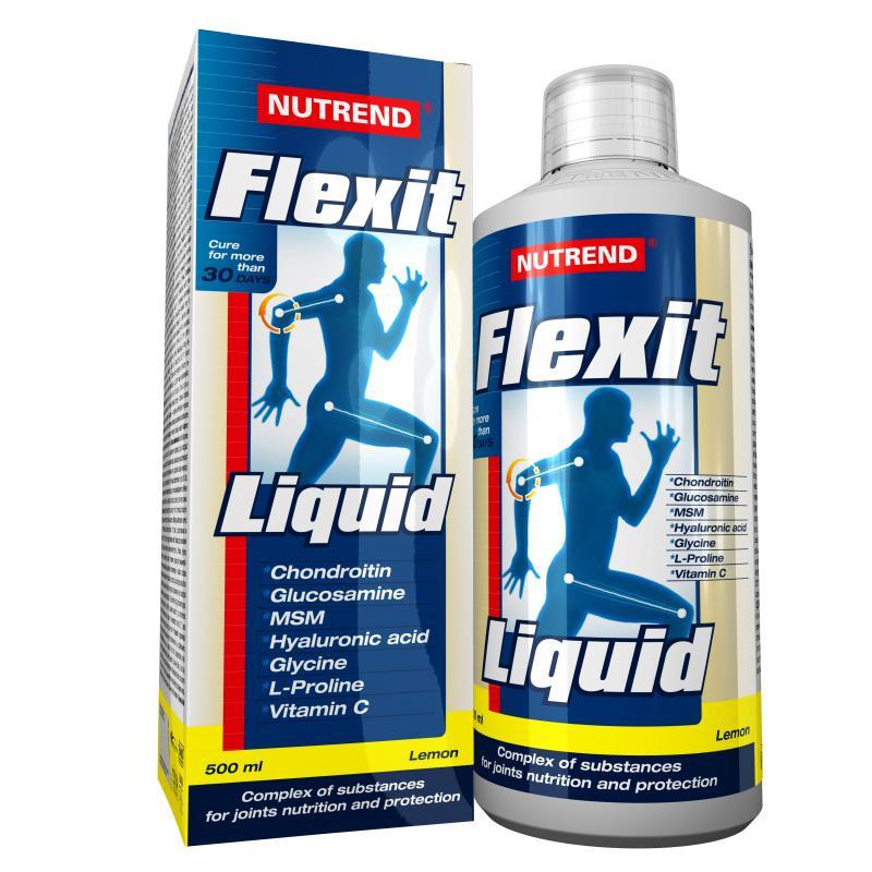Nutrend Flexit Liquid (500мл), лимон