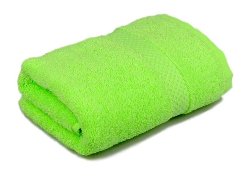 Полотенце махровое Soft touch 40х70 салатовое 400 г/м²