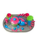 Плита с мойкой и посудой( KW-04-410)